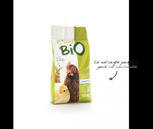 Aliment complet Bio en granulé pour volaille