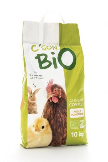 Aliment complet poule pondeuse Bio en granulé